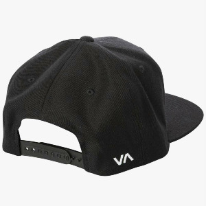 RV TWILL SNAPBACK III - BLACK/CHARCOAL