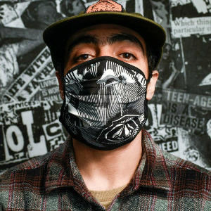 VOLCOM ASST FACEMASK - WHITE BLACK