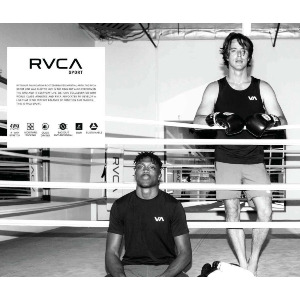 RVCA CLUB VA SPORT SS - BLACK