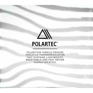 POLARTEC® 1/2 ZIP - BLACK