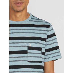 RHODES CREW S/S - COOL BLUE