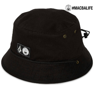 MACBA LIFE x VOLCOM BUCKET HAT - BLACK