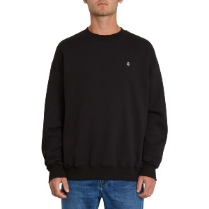 ERITH CREW FLEECE - BLACK