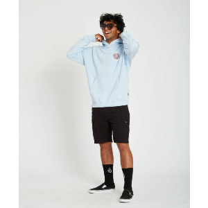 OZZY P/O FLEECE - AETHER BLUE