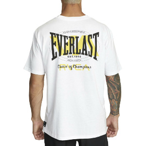RVCA EVERLAST STACK SS TEE - WHITE