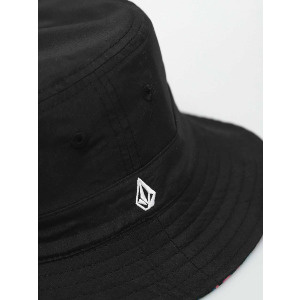CORAL MORPH BUCKET HAT - BLACK