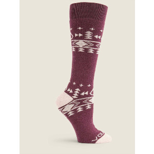 TUNDRA TECH SOCK - MERLOT